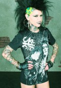 california deathrock t-shirt